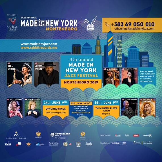 Made in New York Jazz Festival u Porto Montenegru