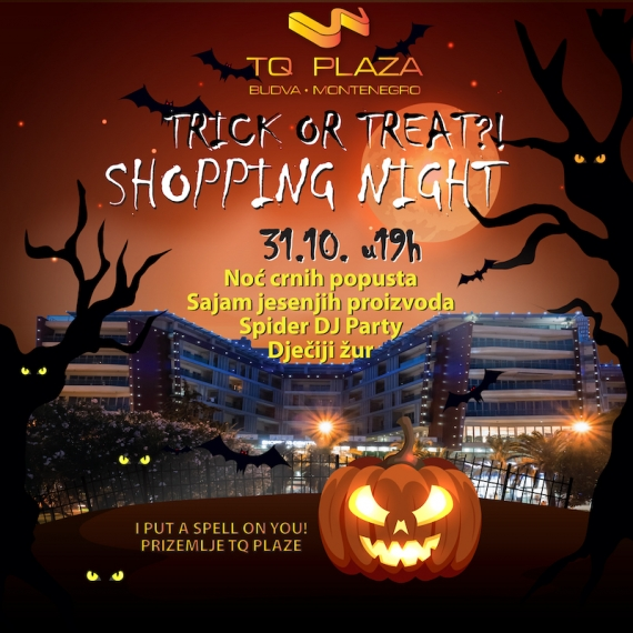 TQ Plaza put a spell on you